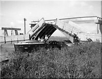 TM4599 : Bascule bridge over Haddiscoe New Cut by Charles Robert Clifton