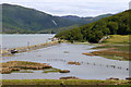 SH6516 : Flooded salt marsh near Garth Isaf  by Phil Champion