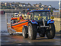 J5082 : Bangor Lifeboat and tractor by Rossographer
