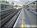 TQ3384 : Haggerston railway station, London by Nigel Thompson
