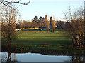 SP2965 : Floodmeadow, Myton, River Avon by Emscote Gardens, Warwick 2014, December 28 by Robin Stott