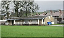 SE0423 : Sowerby St Peter's Cricket Pavilion - St Peter's Avenue by Betty Longbottom