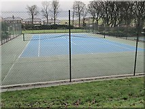 SE0423 : Sowerby Tennis Court - off St Peter's Avenue by Betty Longbottom