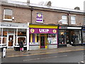 SY6990 : UKIP office Dorchester by Nigel Mykura