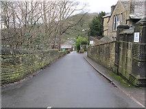 SE0422 : Stansfield Mill Lane - Rochdale Rd by Betty Longbottom