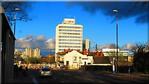 SP3378 : View down Warwick Road, Coventry by John Brightley