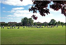 TF1020 : Recreation ground at Bourne, Lincolnshire by Rex Needle