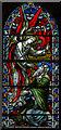 TQ8009 : Stained glass window, Christ church, St Leonards by Julian P Guffogg