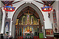 NY4756 : View towards the chancel, Our Lady & St Wilfrid's Church by Rose and Trev Clough