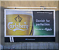 J5081 : 'Carlsberg' advert, Bangor by Rossographer