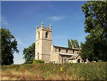 TF0627 : The parish church at Kirkby Underwood, near Bourne, Lincolnshire by Rex Needle