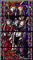 TQ8009 : Detail of east window, Christ church, St Leonards by Julian P Guffogg