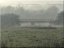 SK5815 : Footbridge across the River Soar by Mat Fascione