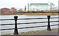 J3473 : Proposed River Lagan (Gasworks) footbridge, Belfast - January 2015(1) by Albert Bridge