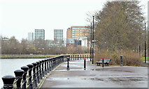 J3473 : Proposed River Lagan (Gasworks) footbridge, Belfast - January 2015(2) by Albert Bridge