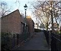 SK5740 : Victoria Park, Sneinton, Nottingham by David Hallam-Jones