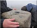 NN1671 : Trig Point on Summit of Ben Nevis by Matthew Chadwick