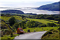 SH6514 : View towards Barmouth from the road between Arthog and Cregennen Lakes by Phil Champion