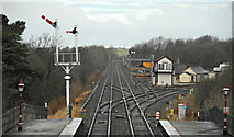 NY6820 : Appleby railway station by Thomas Nugent