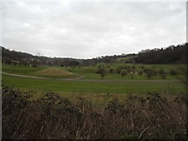 TQ3557 : Woldingham Golf Club from Bug Hill by David Howard