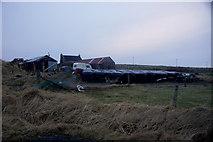 HU6390 : Aith, Fetlar by Mike Pennington