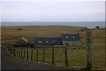 HU6390 : House at Aith, Fetlar by Mike Pennington