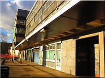 SP3378 : Row of empty shops, Station Square, Coventry by John Brightley