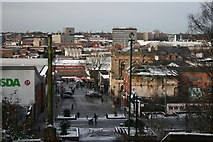 SP0198 : Snowy view from St Matthews by Derek Bennett