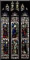 TQ4854 : Stained glass window, St Mary's church, Sundridge by Julian P Guffogg