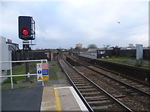 TQ4085 : View from Wanstead Park station by Marathon