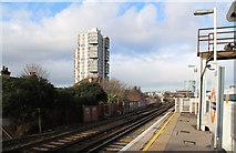 TQ2976 : Wandsworth Road Station by John Salmon
