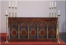 TQ2976 : St Paul, Clapham - Altar by John Salmon