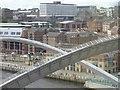 NZ2563 : Gateshead Millennium Bridge, England by Andrew Tryon