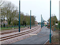 SK5136 : Bramcote Lane open space (as was) by Alan Murray-Rust