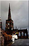 SJ3288 : Birkenhead Priory, St Mary's Tower by Ian Greig
