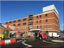 SJ8545 : Royal Stoke University Hospital: Springfield Building by Jonathan Hutchins
