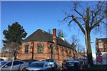 SJ8545 : Royal Stoke University Hospital: old Chapel by Jonathan Hutchins