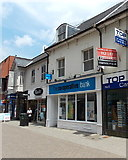 SY6990 : The Co-operative Bank in Dorchester by Jaggery