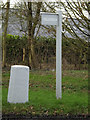TM2664 : Highfield sign by Adrian Cable