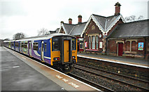 NY6820 : Appleby railway station by Thomas Nugent