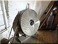 TF1443 : Redundant mill stone at Heckington Mill by Richard Hoare