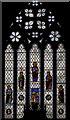 TQ5243 : East window, St John the Baptist church, Penshurst by Julian P Guffogg