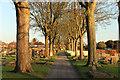 SK9772 : Newport Cemetery by Richard Croft