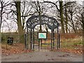 SD5428 : Entrance to Frenchwood Knoll Wildlife Garden by David Dixon