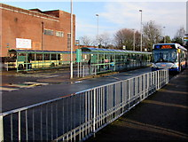 SO5140 : Country Bus Station, Hereford by Jaggery