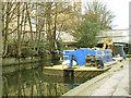 TQ3684 : Dredging barge by Stephen Craven