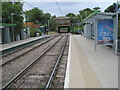 TQ3467 : Woodside railway station (site) / Tramlink stop, Greater London by Nigel Thompson