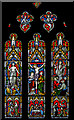 TQ5643 : East window, St Lawrence's church, Bidborough by Julian P Guffogg