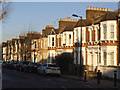TQ3574 : Terraced houses, Athenlay Road by Stephen Craven