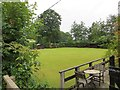 SJ6178 : Bowling green, Whitley by Richard Webb